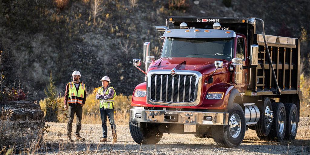 International-truck-HX-series-dump-truck