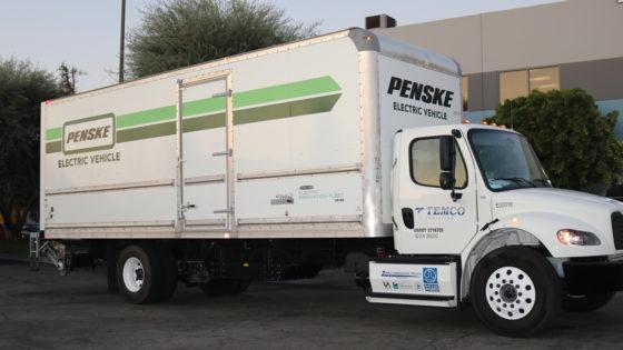 Penske-Battery-Electric-Truck-Temco-Logistics