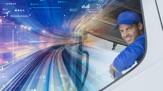Truck Driver training management visibility in data