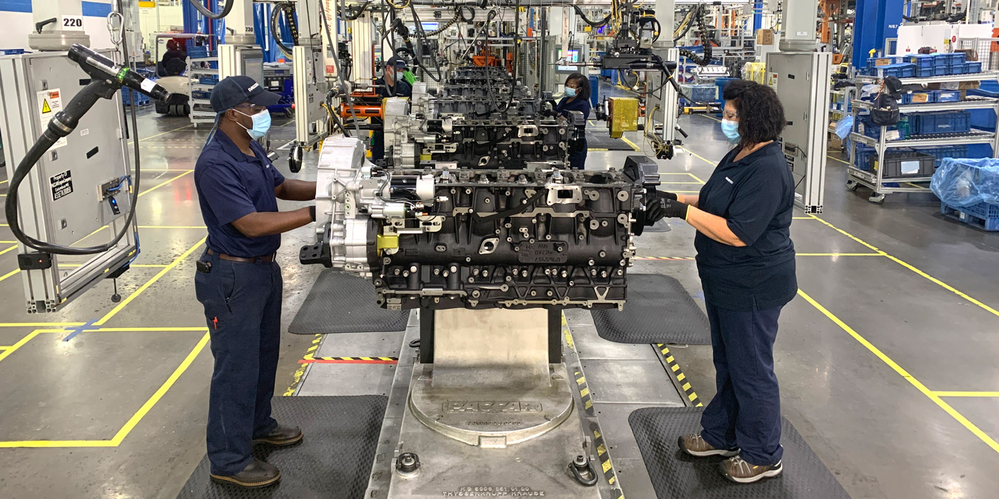 PACCAR-Engine-Plant-Assembly-Line