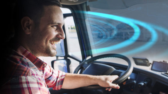 truck driver safety training technology