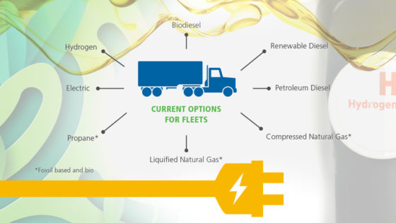 energy management solution for trucking fleets