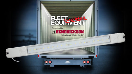 Interior truck trailer lighting safety