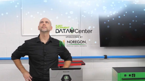 Data Center Over The Air updates improves truck service