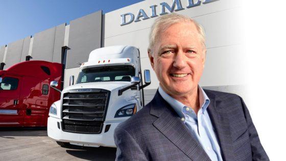 Daimler Trucks north American President OLeary