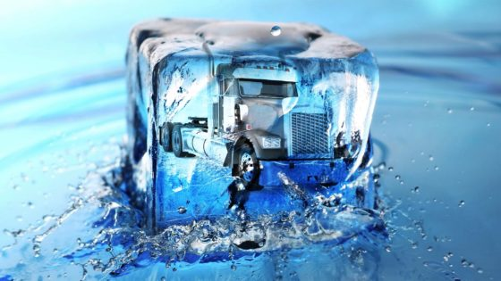 Truck battery frozen no start solving problem