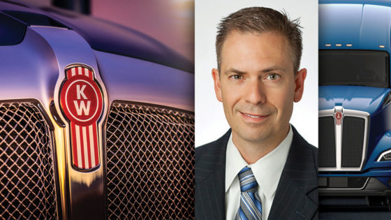 kenworth general manager paccar vice president kevin baney T680 next gen