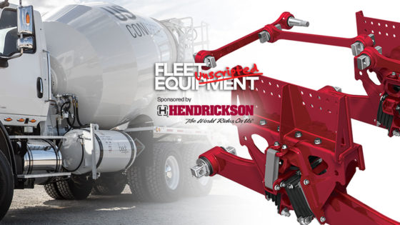 truck equipment delivers durability and driver comfort