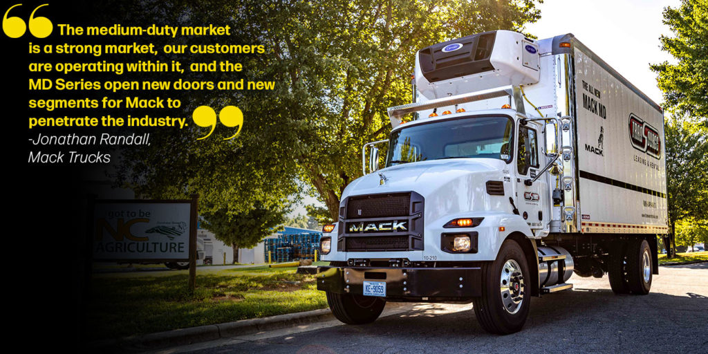 Mack Trucks MD Series Market Quote
