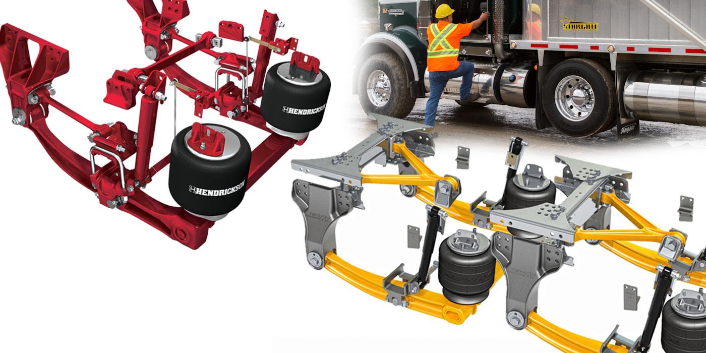 vocational truck suspension driver comfort