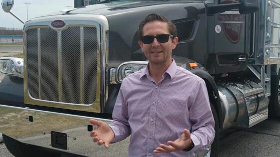 Peterbilt Model 567 Medium Duty Truck Tony