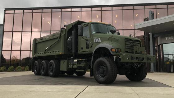 Mack Defense Heavy Dump Truck